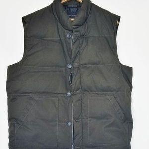 Banana Republic puffy vest men's Large